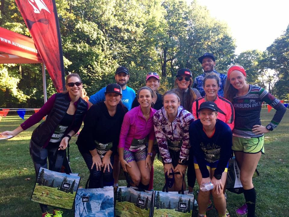 runners world half altra trail group finish