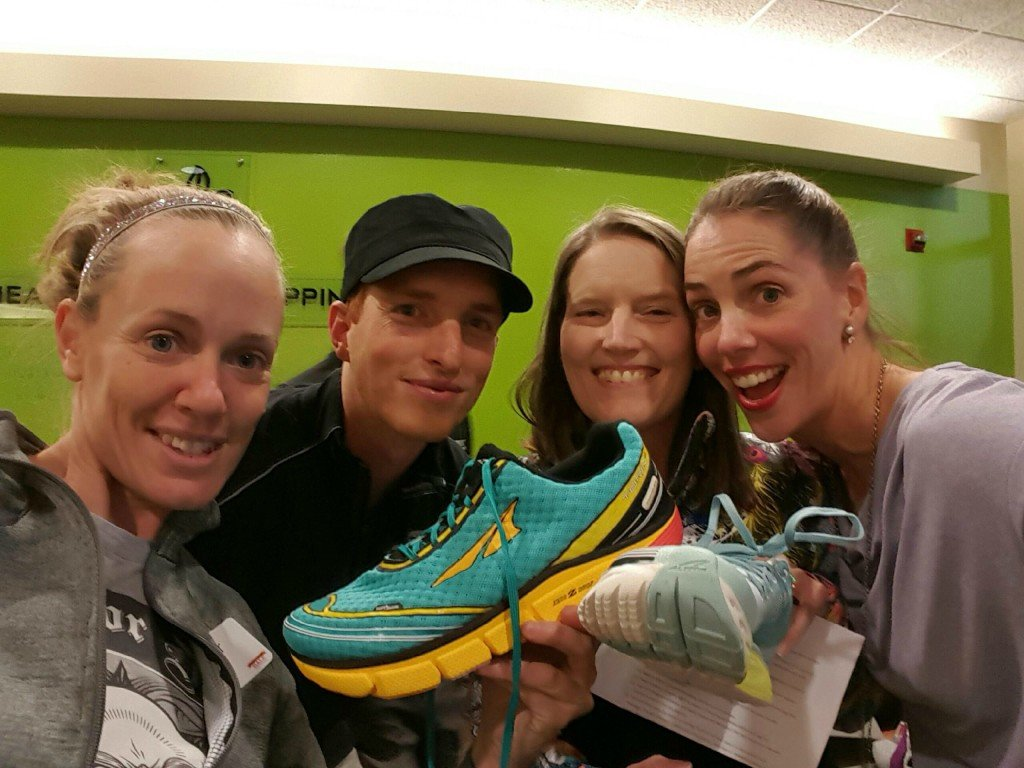 Golden and the Altra Impulse