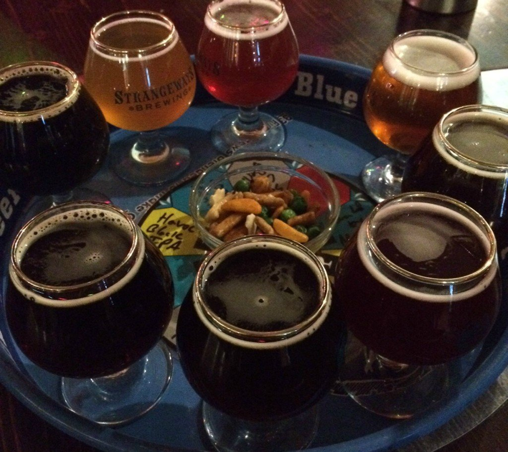 Strangeways Brewing sampler