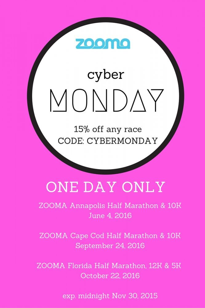ZOOMA race discount