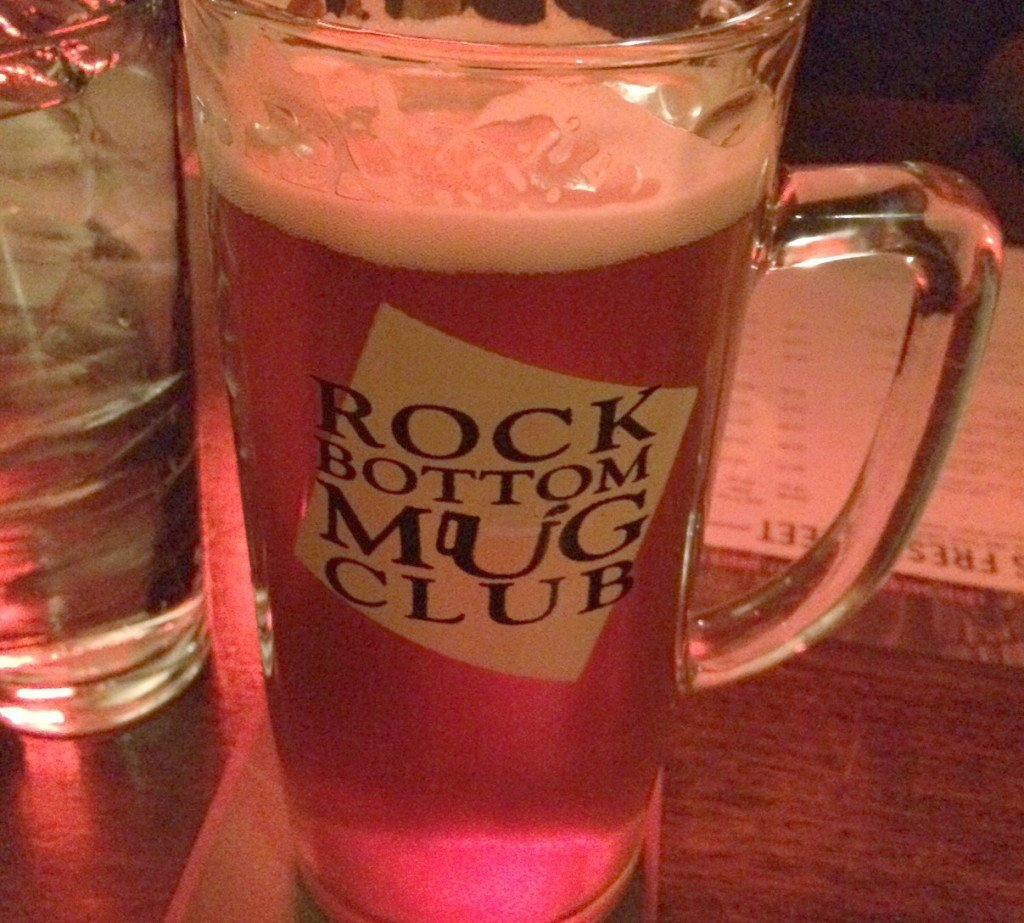 rock bottom pumpkin beer