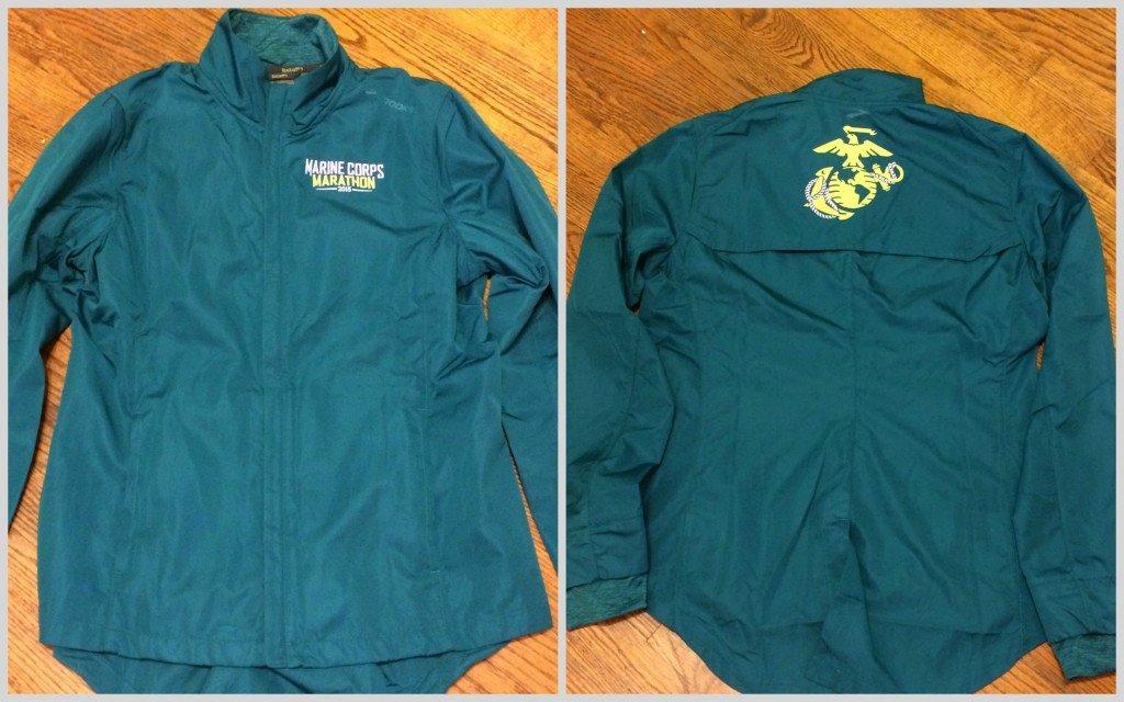 Brooks Marine Corps Marathon jacket