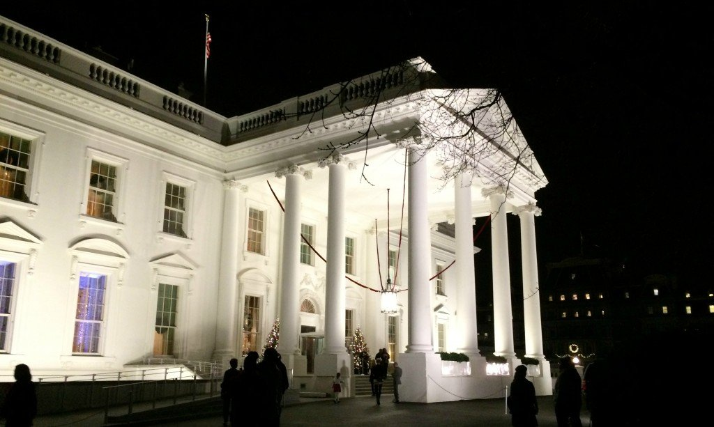 white house outside