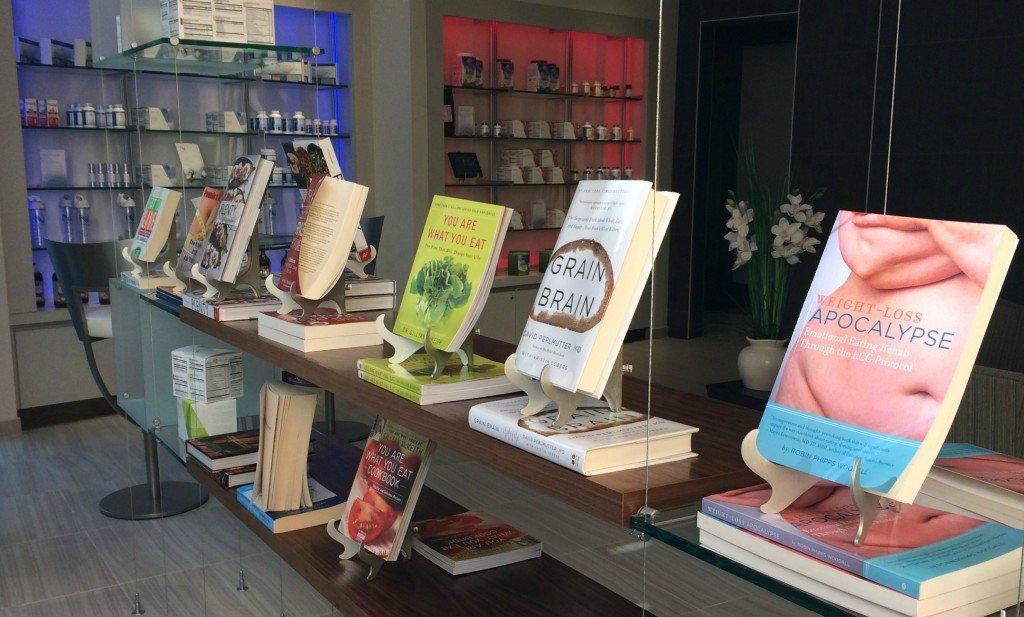 Nava lobby book store