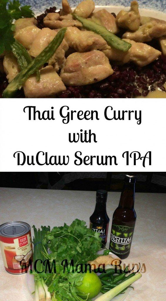 Thai Green Curry DuClaw Serum IPA