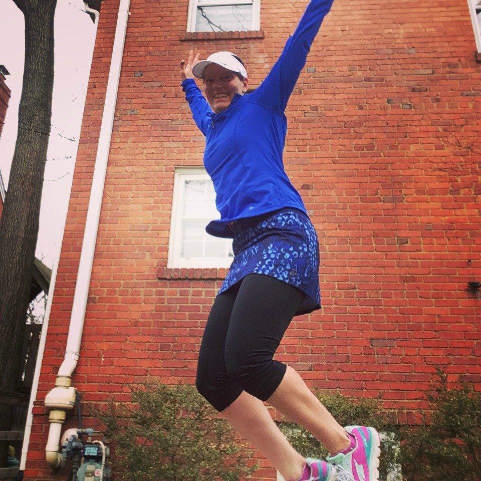 Skirt Sports jump