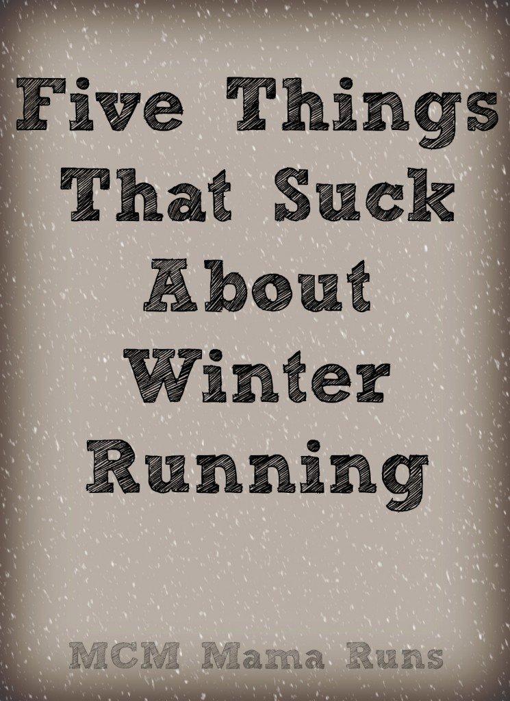 Winter running sucks