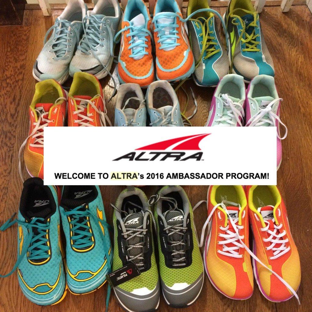 Altra ambassador shoes