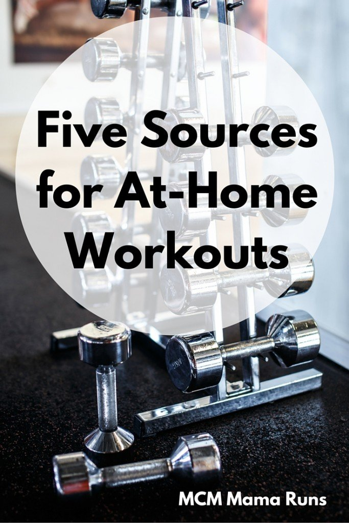 Five Sources for At-Home Workouts