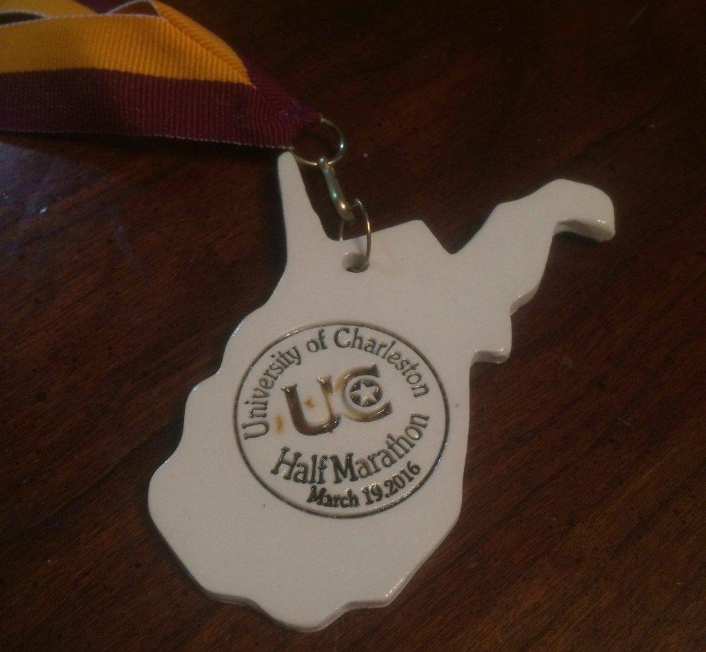 UC Half Marathon medal