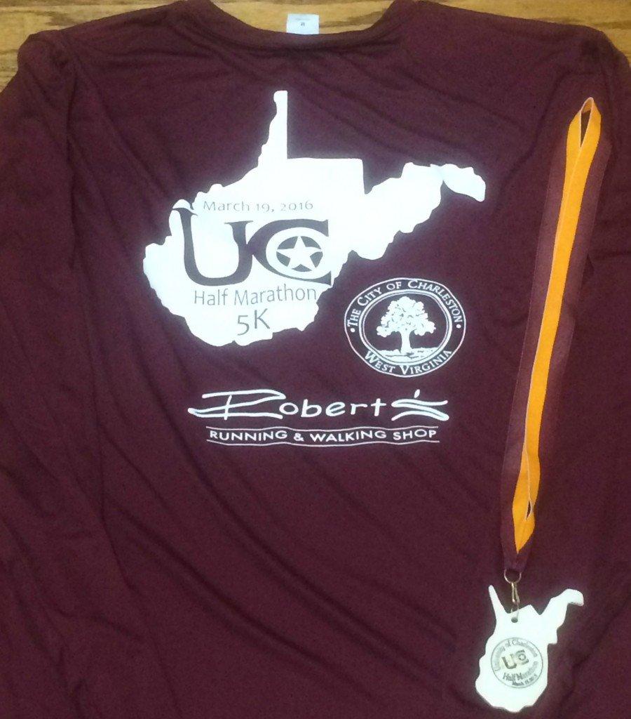 UC Half marathon shirt