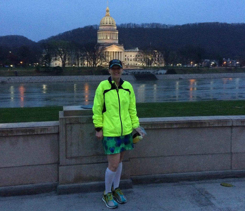 UC half marathon start