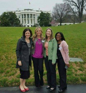 #LetsMove at the White House