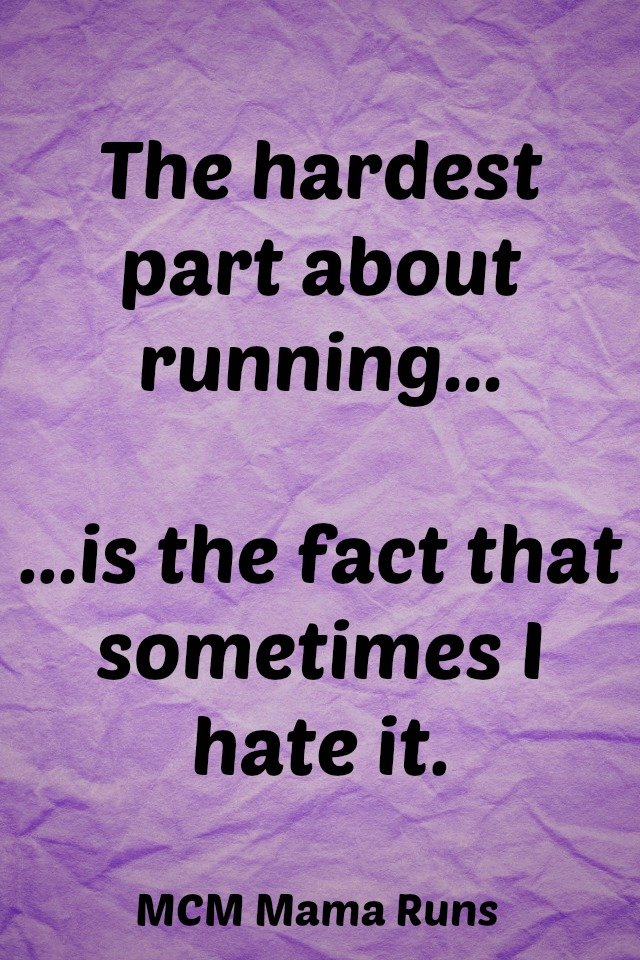 love hate running