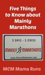 Five things to know about Mainly Marathons