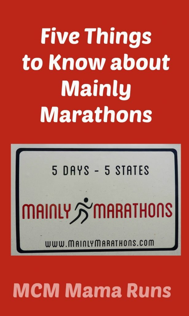 Mainly Marathons info