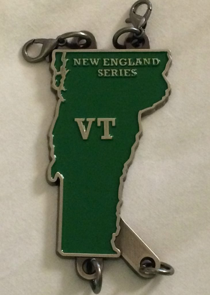 New England Vermont medal