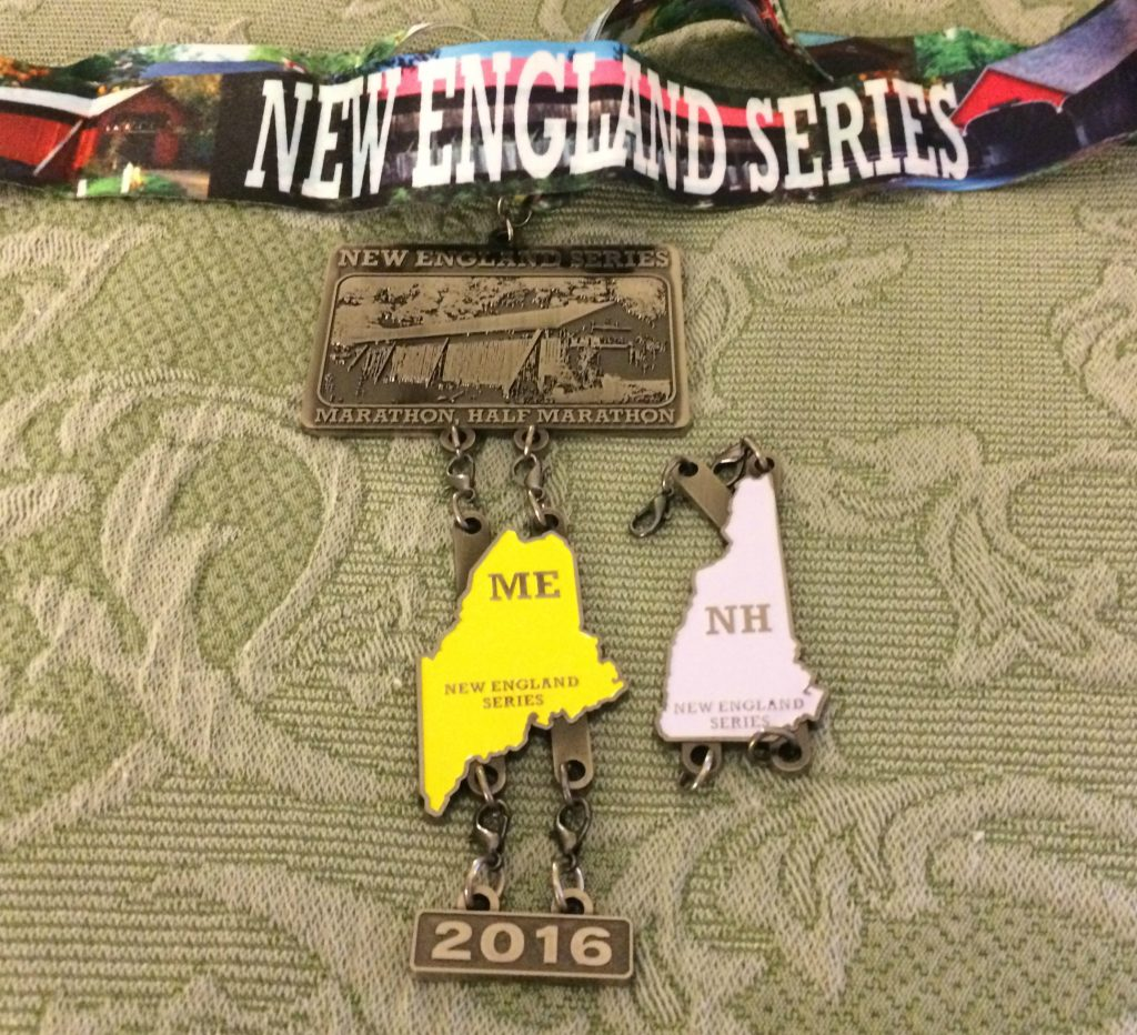 New england series New hampshire medal