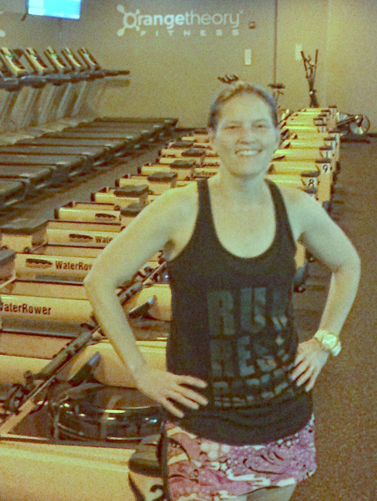 Orangetheory Fitness post workout