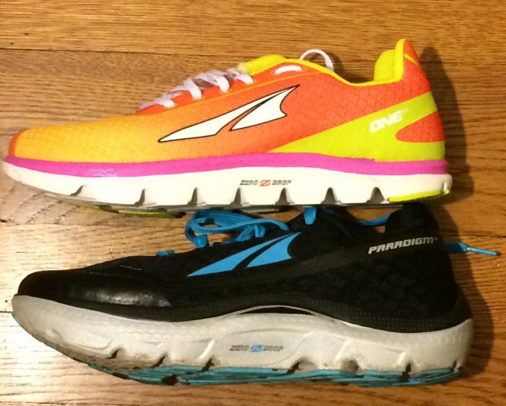 altra paradigm and one cushion