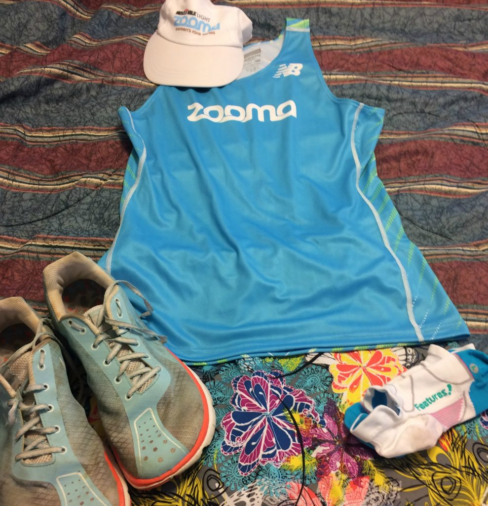 Zooma 2016 race outfit