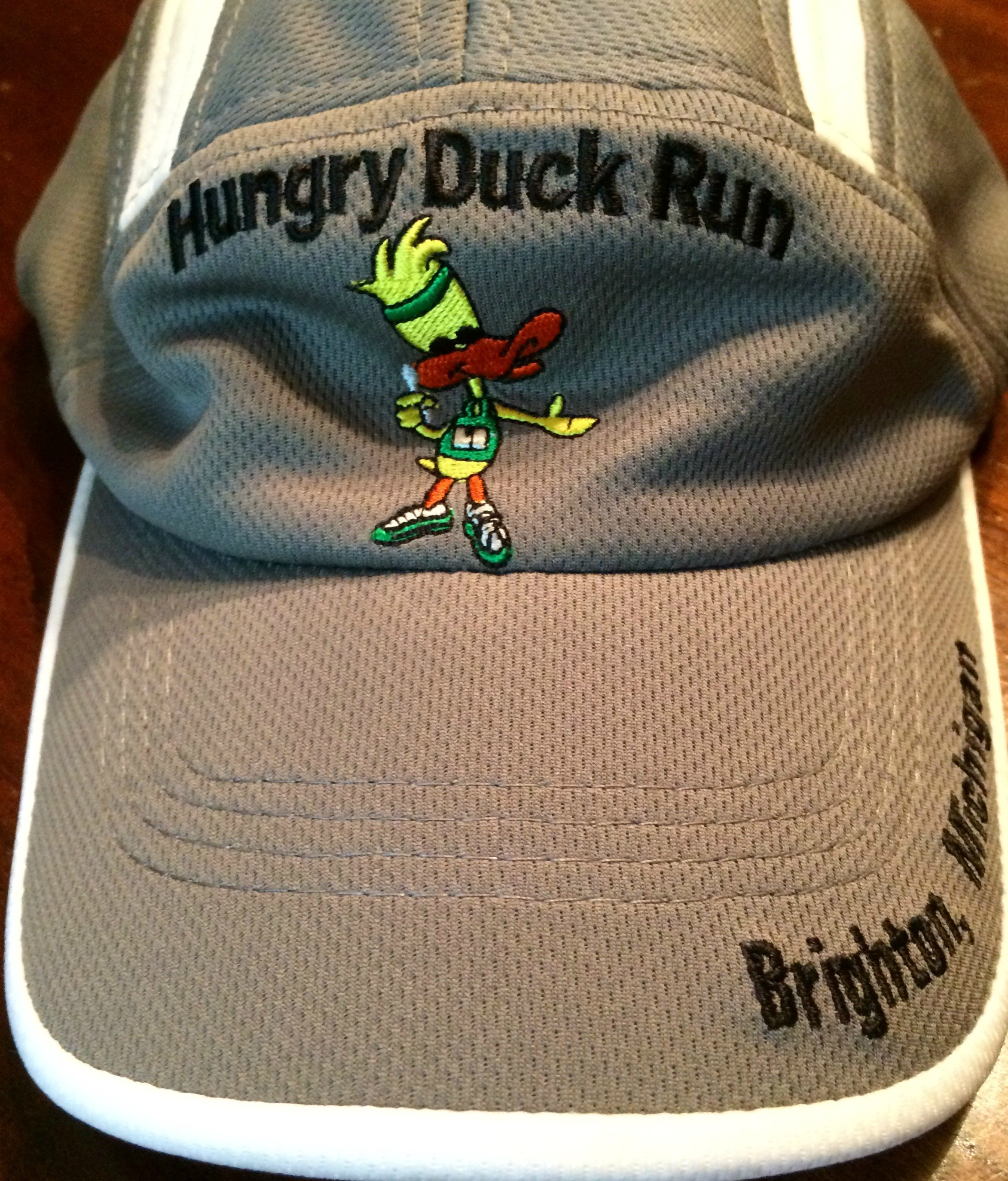 hungry duck run hat