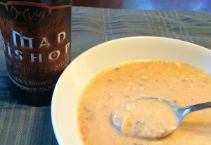 DuClaw Mad Bishop Spicy Beer Cheese Soup
