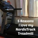 5 Reasons I'm loving my NordicTrack Treadmill