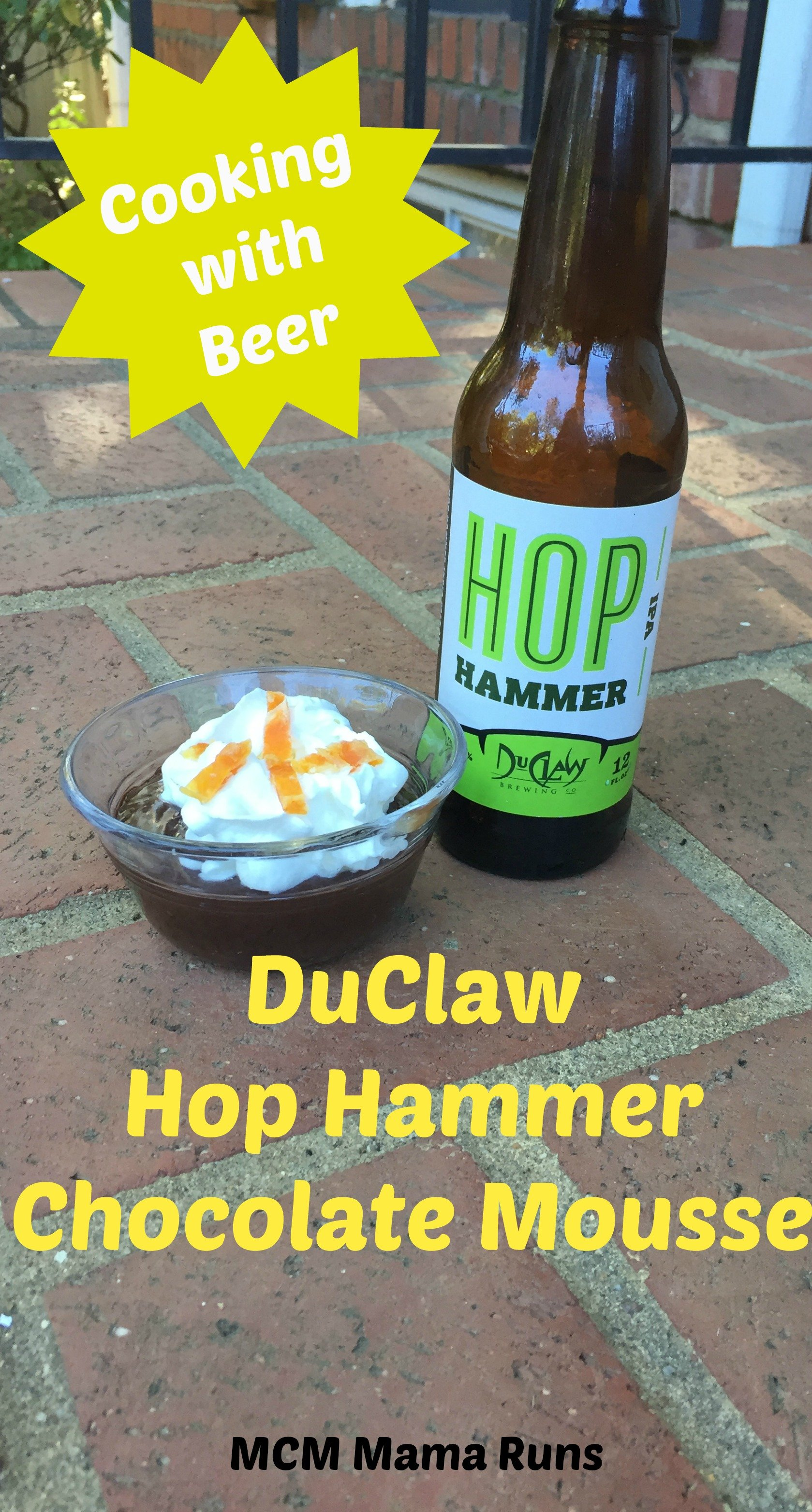 DuClaw Hop Hammer Chocolate Mousse