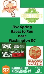 Five spring races I plan to run this year