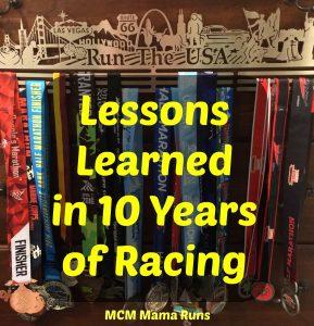 Ten things learned in ten years of racing