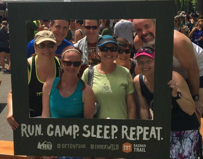 Ragnar Trail Richmond Team No Beer Left Behind
