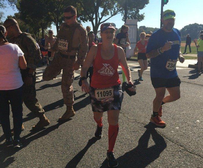 Marine Corps Marathon 2017 mile 15