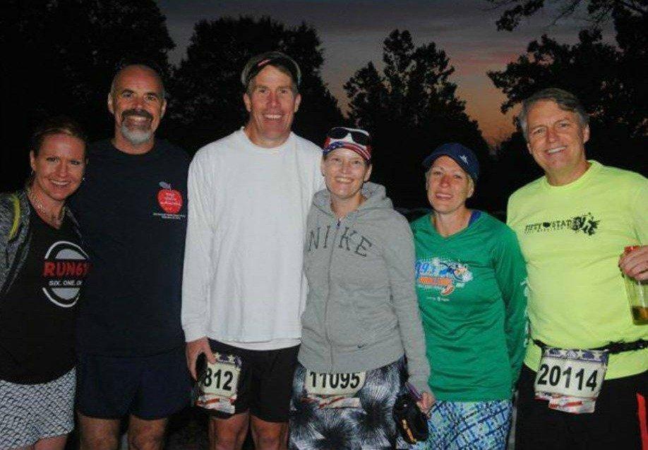 Marine Corps Marathon 2017 friends