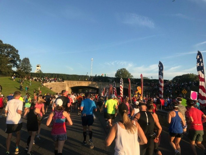Marine Corps Marathon 2017 start