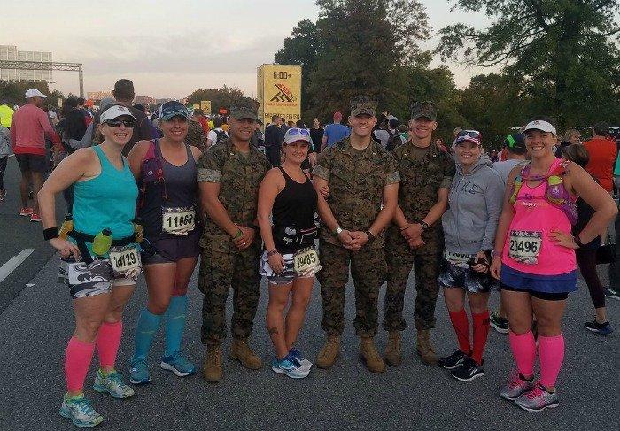 Marine Corps Marathon 2017 skirts