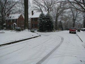 Nine snowy miles