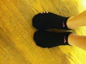 Running in Socks