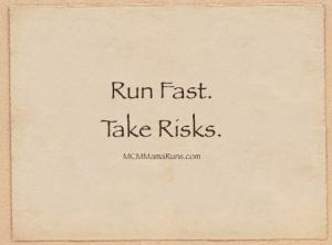 """Run Fast. Take Risks."""