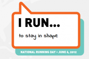 In honor of National Running Day…