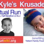 Half Marathon #2 for 2013 – Kyle's Krusade