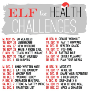 Elf For Health recap