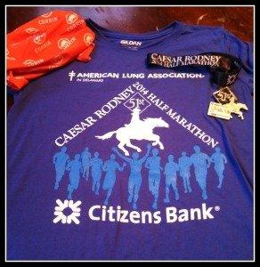 Half Marathon #2 for 2014: Caesar Rodney