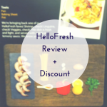 WIAW: Hello Fresh Review and discount code
