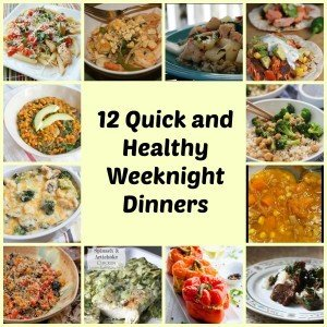 12 Easy weeknight meals + training plans