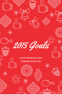 Five 2015 goals that are not mine