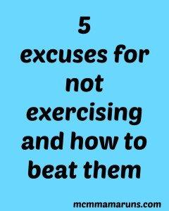 5 Excuses to skip exercising and how to beat them