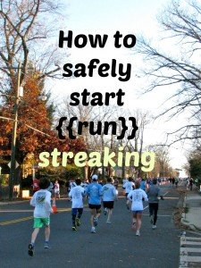 How to safely become a streaker