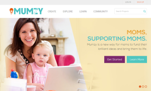 MUMZY: Crowdfunding for Moms