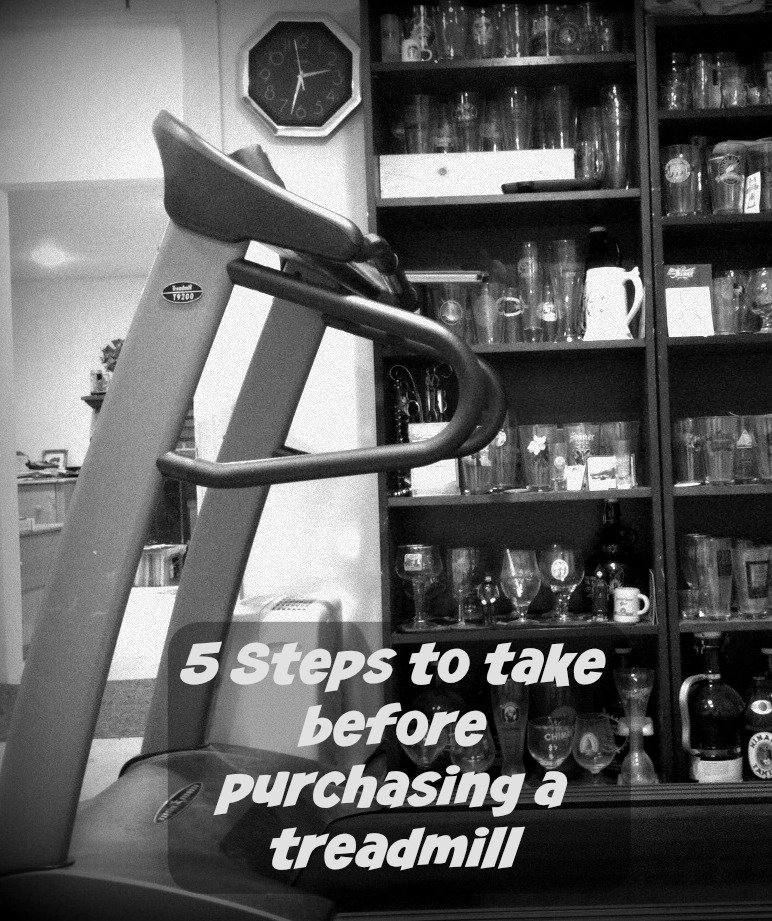 Purchasing a treadmill